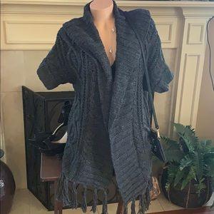 NWT Hand knit sweater M/L